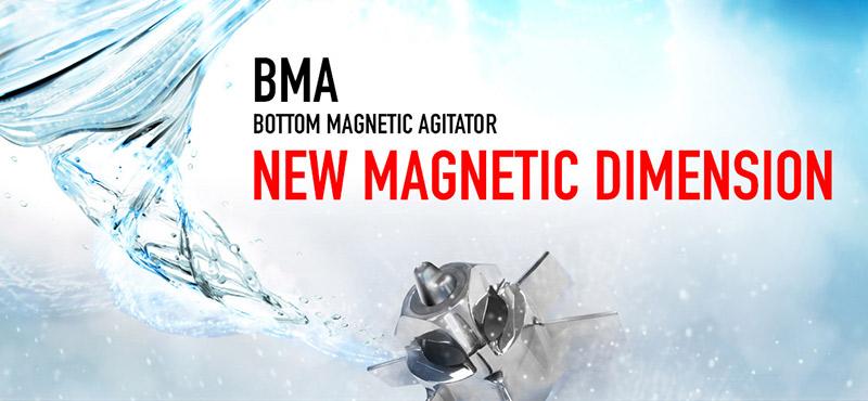 INOXPA presenta la nuova gamma di agitatori magnetici BMA