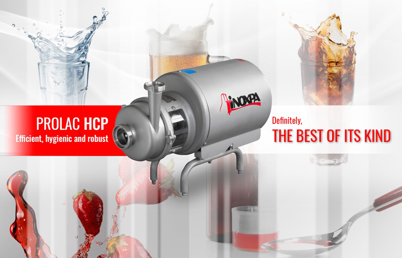 Pompa PROLAC HCP: Efficiente, igienica e robusta