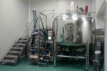Linea per la preparazione di liquidi farmaceutici