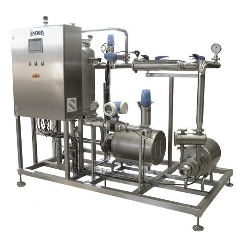 Impianto ricevimento latte