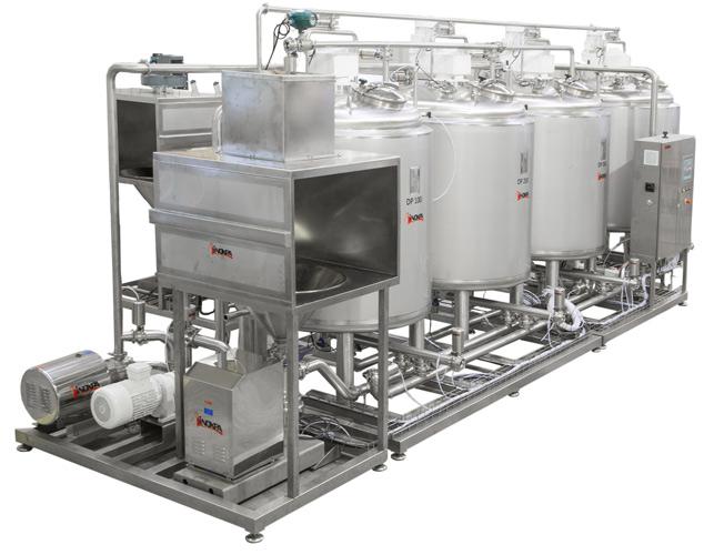 Produzione di aromi per pasticcerie